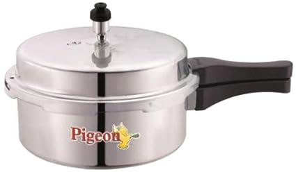 Pigeon Deluxe Aluminium 2 L Pressure Cooker