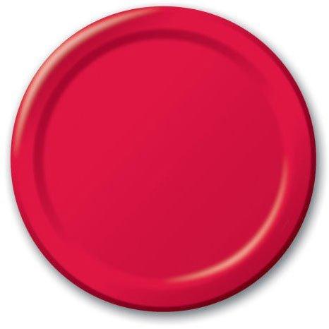Red Dessert Plates 20ct