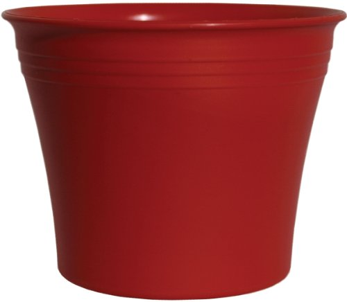 Rush Creek Designs PIM2021011328 Aspen Planter, Red (Discontinued by Manufacturer)