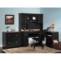 Home Office Furniture Desk Set - Fairview Collection - Bush Office Furniture - FAIR-OSET-1