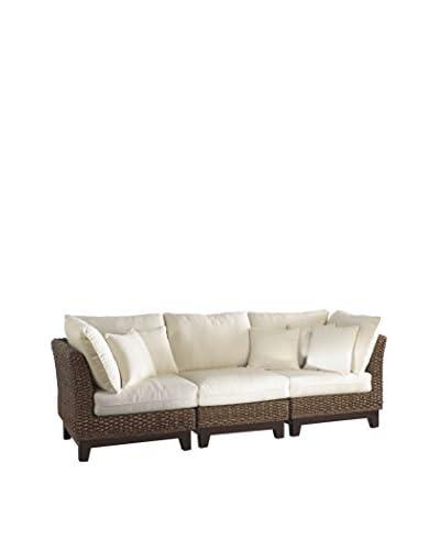 Panama Jack Sanibel Armless Chair With Cushion, Antique