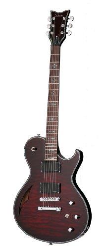 Schecter Hellraiser Solo-6 E/A 6-String Electric Guitar, Black Cherry