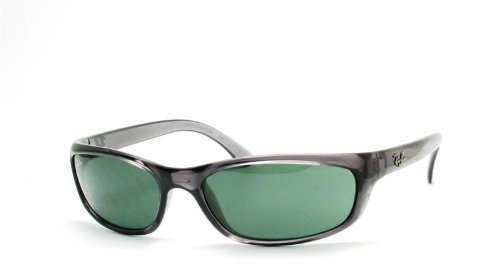 a4758495259c Ray-Ban RB 4115 Sunglasses Styles - Smokey Black Frame / Green Lenses,  RB4115-606-71-57