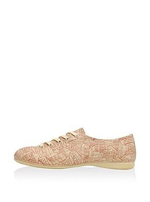 DOGO Zapatos de cordones Town (Beige)