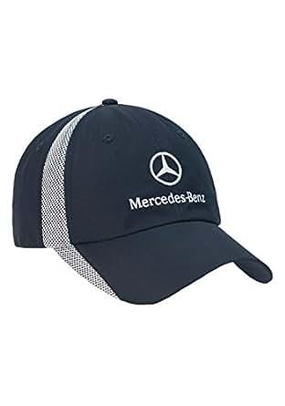 Mercedes benz microfiber navy unstructured colorblock hat for Mercedes benz hat amazon