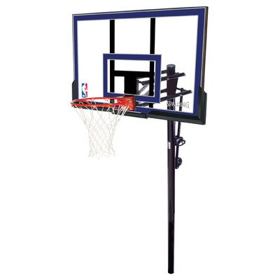 Spalding 50-Inch In-Ground Basketball System with Acrylic Backboard Spalding Backboards autotags B001XOSJA0