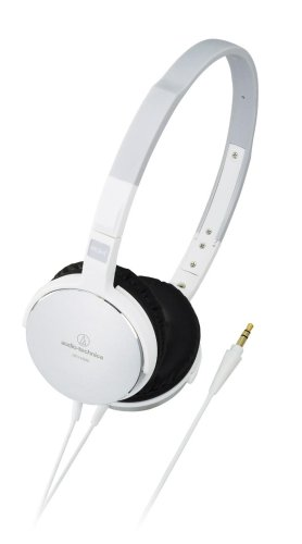 Audio Technica Ath-Es55 Wh White | Portable Headphones (Japan Import)