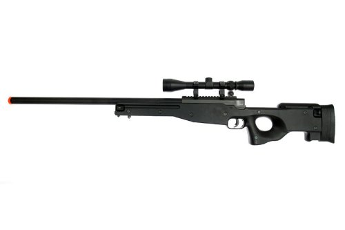 Well L96 Awp Spring Airsoft Sniper Rifle Sonia F Coking