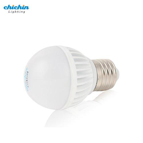 Chichinlighting® Day White E26 12 Volt Ac/Dc 4.5 Watt Rv Camper Marine Low Voltage Led Light Bulb, 12V Led Bulb Solar Led Bulb