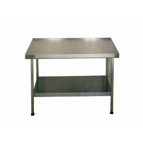 Mesa de centro de acero inoxidable (sentimientos) - Modelo: F20614Z. 900 (H) x (W) x 1500 (D) mm 650. No anafilactica.
