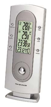 VWR RF WIRELESS THERMOMETER - VWR RF Wireless Indoor/Outdoor Digital Thermometer/Clock
