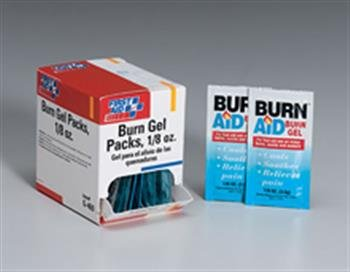 Burn Relief Pack- 3.5 Gm- 25 Per Dispenser Box 20pairs lot first aid supplies ecg defibrillation electrode patch for aed trainer use