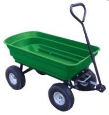 HEAVY DUTY GARDEN CART TIPPER DUMP TRUCK