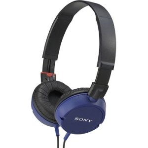 Sony Stereo Headphones; Blue [Mdrzx100/Blu] -