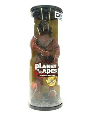 Picture of Hasbro Signature Series 12 Inches Tall Planet of the Apes Gorilla Soldier Action Figure (B0010E4STY) (Hasbro Action Figures)
