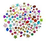 Assorted Acrylic Jewels - 70g Bag