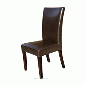 Amazoncom artefac highback leather dining chair rv for Artefac furniture