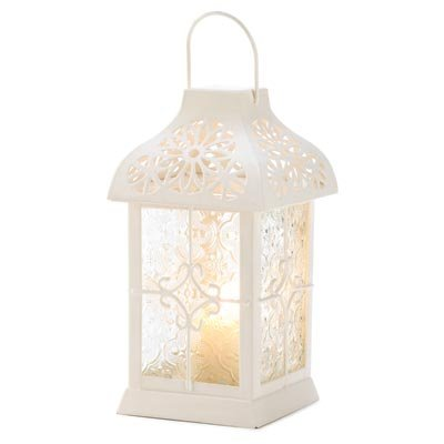 Gifts & Decor Daisy Gazebo Hanging Lantern Candle Holder
