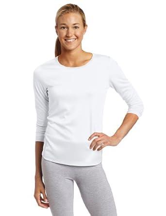 ASICS Women's Core Long Sleeve Shirt, White, Small