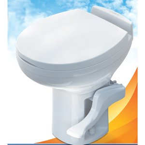42171 Thetford Aqua Magic Residence RV Toilet High Profile Bone Color