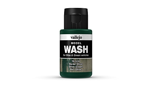 Vallejo Olive Green Model Wash