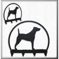 Parson Jack Russell Terrier 4 Hook Holder