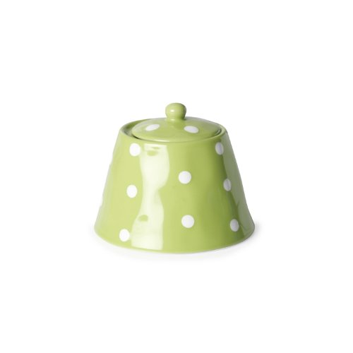 Maxwell And Williams Sprinkle Sugar Bowl, Lime
