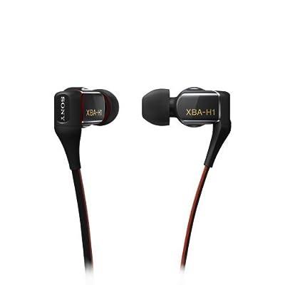Sony XBA-H1 Hybrid 2-way In-Ear Noise Isolation Headphones (Certified Refurbished)