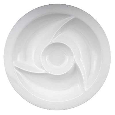 15-inch Round Chip N Dip Tray (Set of 3)