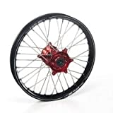 Haan Husqvarna Tc250 Haan Wheels Husqvarna Red Hub & Black Rim, 2004-2010 21-1.6