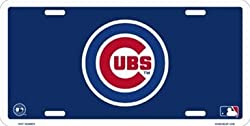 Chicago Cubs License Plate Frame MLB