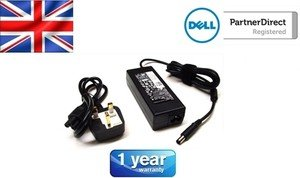 NEW DELL ORIGINAL 90W - 19.5V - 4.62A POWERSUPPLY/ADAPTOR COMPATIBLE WITH THE FOLLOWING DELL MODELS / LATITUDE: XT3 E6220 E6320 E6420 E6520 / INSPIRON : N4050 N4110 N4120 N5110 N7110 M4110 M5110 / VOSTRO :3300 3350 3400 3450 3460 3550 3555 3700 3750 / XPS L502X . WILL REPLACE P/N MK947 YD9W8 YY20N TK3DM MV2MM 450-18143. CAN ALSO REPLACE PA-3E AND DELL PA-10. SUPPLIED WITH UK LEAD