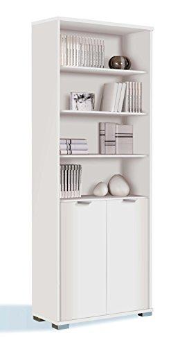 estanteria-libreria-biblioteca-de-pie-alta-color-blanco-brillo-estantes-regulables-gruesos-de-22mm-p