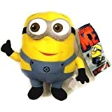 Fireox 10.5 Inch Despicable Me Deluxe 3D Eye Figure gift Plush toy Minion Dave