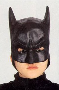 Batman Child Half Mask Halloween Costume Accessory