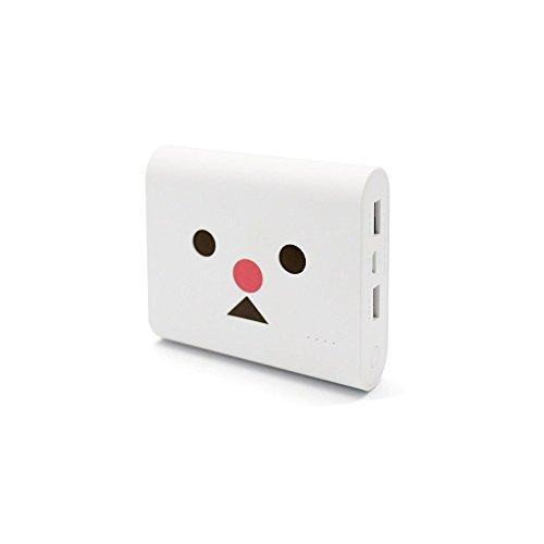 cheero Power Plus 3 13400mAh DANBOARD version 大容量 モバイルバッテリー [ 国産Panasonic 高品質電池搭載 ] Snowman ( White ) iPhone 6s / 6s Plus / 6 / 6 Plus / 5s / 5c / 5 / iPad / Android / Xperia / Galaxy / Nexus / 各種スマホ / タブレット / ゲーム機 / Wi-Fiルータ 等 急速充電 対応 超コンパクト ハイパワー出力 3.4A 【AUTO-IC機能搭載】 …