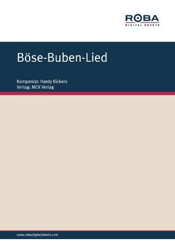 Böse-Buben-Lied (German Edition)