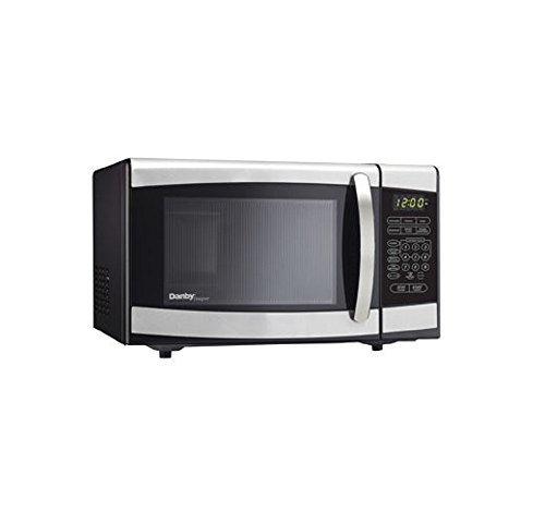 0.7 Cu.Ft. 700 Watts Microwave In Black With Stainless Steel