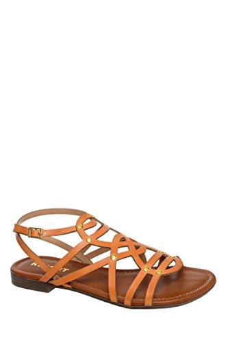 Gamma Low Heel Flat Sandal