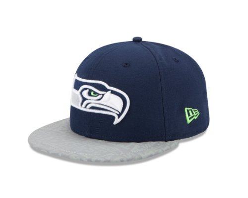 NFL Seattle Seahawks 2014 Onstage 59Fifty Draft Cap, 7 3/8