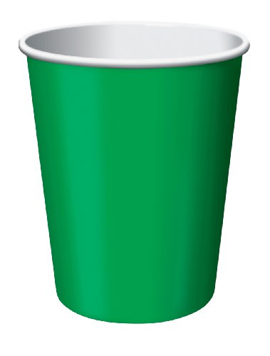 Emerald Green, 9 oz Hot/Cold Cup, 24 ct