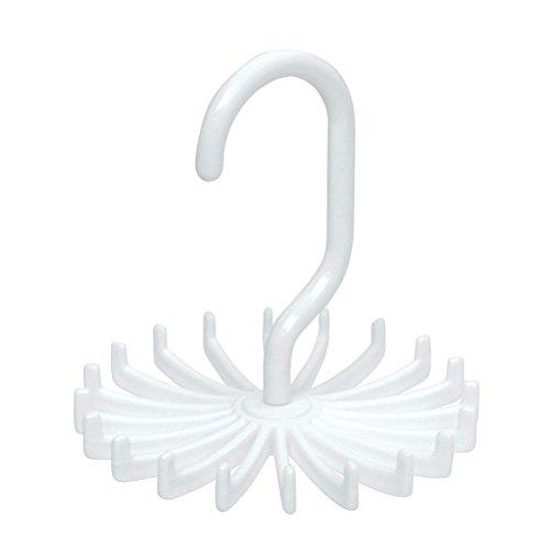 VORCOOL Blanc Porte-cravates en Plastique
