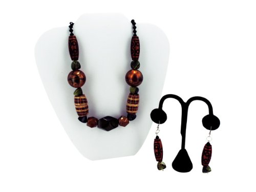 Wholesale Set Of 15, Beaded Necklace/Earring (Jewelry, Necklaces), $4.85/Set Delivered