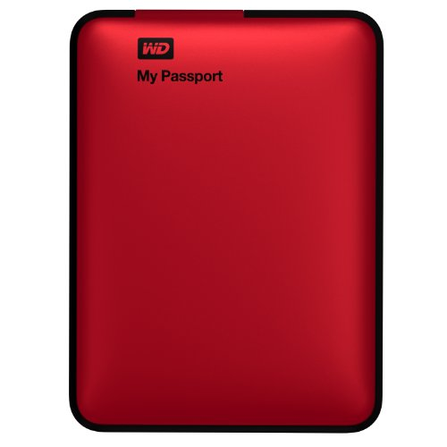 WD My Passport 2TB Portable External USB 3.0 Hard Drive Storage Red (WDBY8L0020BRD-NESN)