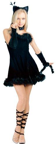 faschingskost m rubie 39 s kissable kitty preisvergleich verkleidung g nstig kaufen bei. Black Bedroom Furniture Sets. Home Design Ideas