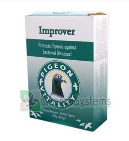 Pigeon Vitality Improver 200 Gr. Against Bacterial Diseases. Pigeons Products