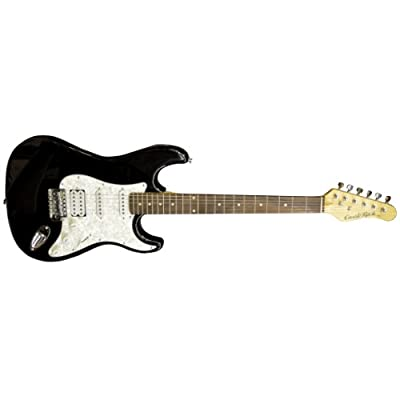 Castlerock EG-SV42-K2SH Double Cutaway Electric Guitar in Black reviews