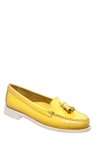 Bass Weejuns Ventura Shiny Casual Flat Shoe