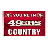 San Francisco 49ers Flag – You're in 49er Country