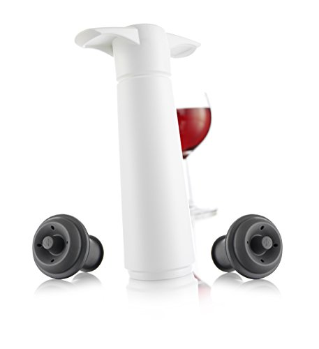 vacu-vin-3-piece-wine-saver-pump-and-stopper-white-kitchen-japan-import